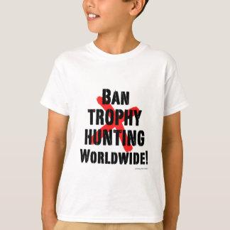 Camisetas Caça do troféu da proibição