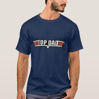 Camisetas Callsign superior da aviação do pai