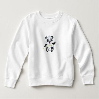 """Camisetas """"Camisola do caráter da panda do selo pequeno do"""