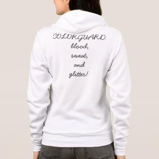 Camisetas camisola do colorguard