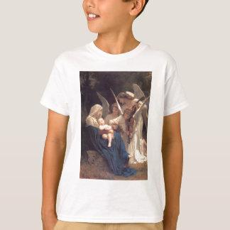 Camisetas Canção dos anjos - William-Adolphe Bouguereau