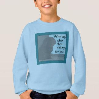 Camisetas Cão bonito que procura o