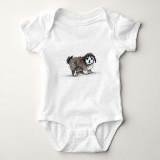 Camisetas Cão de filhote de cachorro de Shihtzu, animal de
