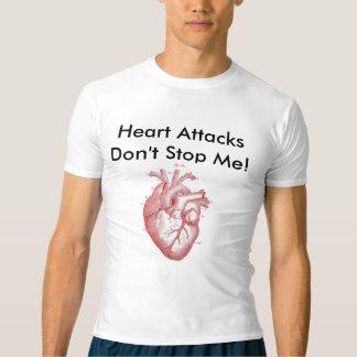 Camisetas Cardíaco de ataque da batida