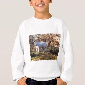 Camisetas Cavalo branco bonito