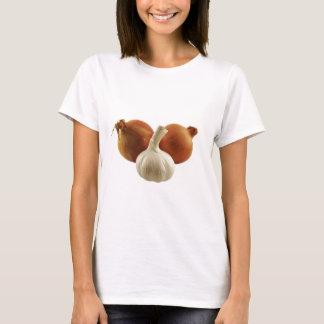 Camisetas Cebolas e alho