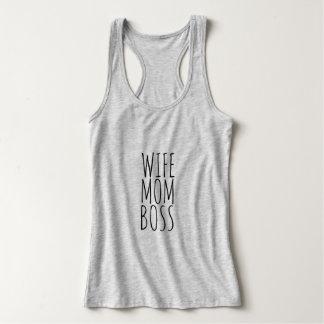 Camisetas Chefe da mamã da esposa
