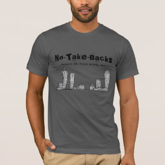 Camisetas Cinza americano do roupa das No-Tomada-Partes