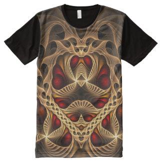 Camisetas Com Impressão Frontal Completa Fractal