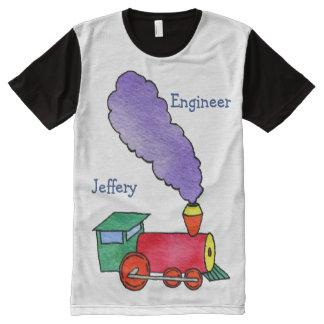 Camisetas Com Impressão Frontal Completa Trem de Choo Choo