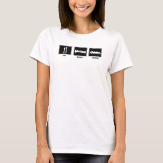 Camisetas Coma/menina Tc do sono/cruzeiro