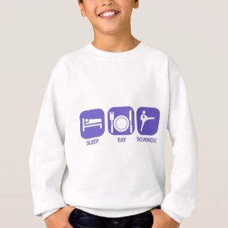 Camisetas coma o sono taekwondo