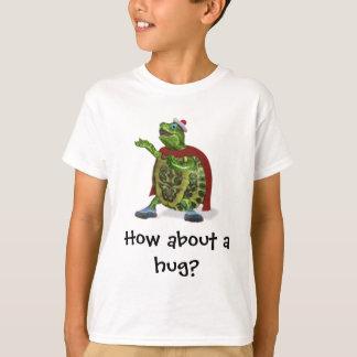 Camisetas Como sobre um abraço?