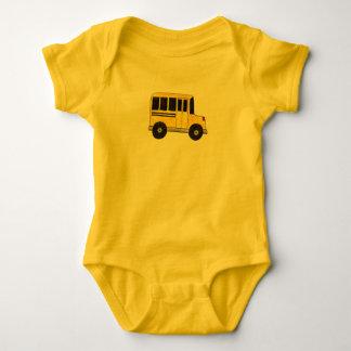 Camisetas Condutor de autocarro amarelo grande do professor