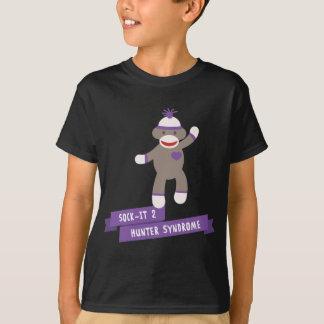 Camisetas Consciência da síndrome do caçador do apoio