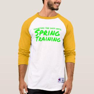 Camisetas Contando os dias até o treino primaveril (Oakland)