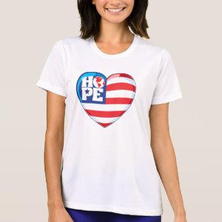 Camisetas Coração grande Hopeflag