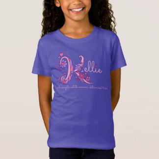 Camisetas Corações de significado conhecidos do monograma