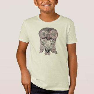 Camisetas Coruja - abstrato