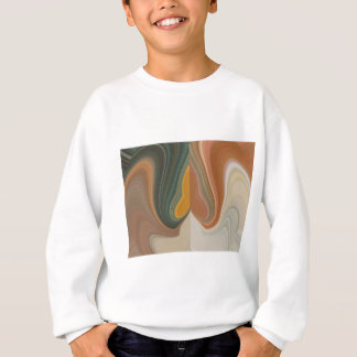 Camisetas Costa colorida gráfica abstrata retro legal de