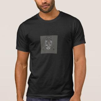 Camisetas Crânio e armas
