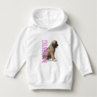 Camisetas Criança Ludwig o Hoodie do filhote de cachorro de