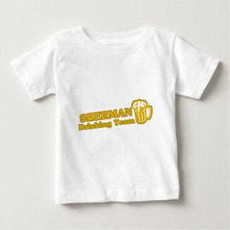 Camisetas da equipe do bebendo de Sherman
