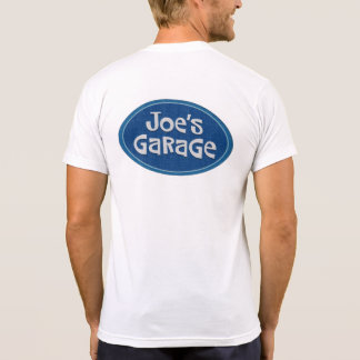 "Camisetas De ""A garagem Joe"" retro"