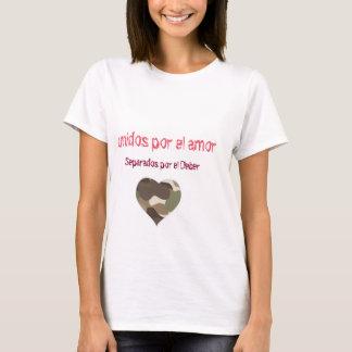 Camisetas deber do EL do por dos separados do amor do EL do