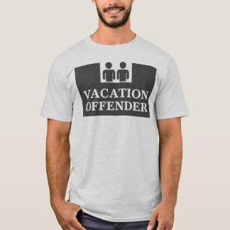 Camisetas Delinquente das férias
