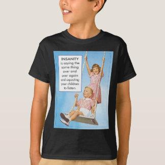 Camisetas Demência que espera crianças escutar