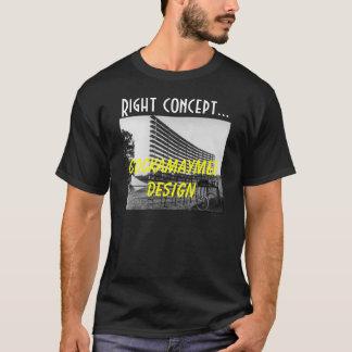 Camisetas design de ínfima qualidade