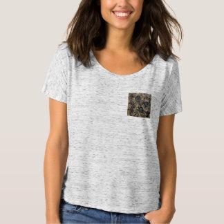Camisetas Design do abstrato do azul