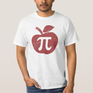 Camisetas Dia do Pi da torta de Apple