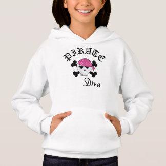Camisetas Diva do pirata