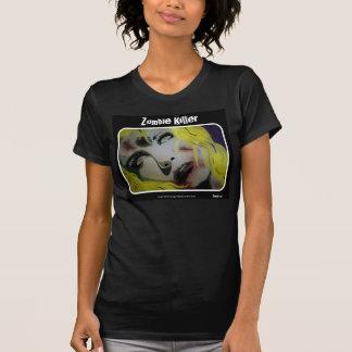 """Camisetas Do """"camisa das senhoras do assassino zombi"""""""