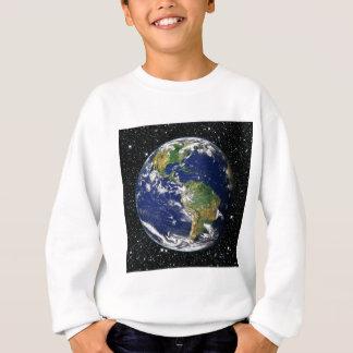 Camisetas ~ do fundo da estrela da TERRA do PLANETA (sistema