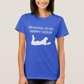 Camisetas do tema da leitura do livro