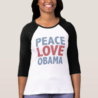 Camisetas e presentes de Obama do amor da paz