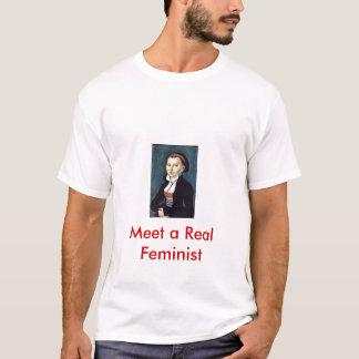 Camisetas Encontre uma feminista real