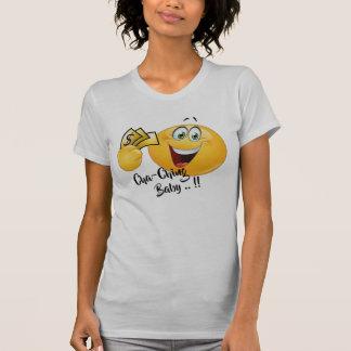 Camisetas engraçadas do emoji do escavador de ouro