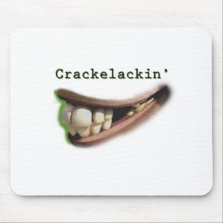 Camisetas engraçadas e presentes de Crackelackin Mouse Pad