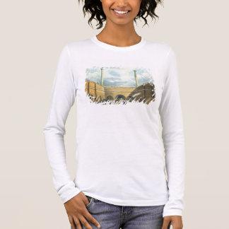 Camisetas Entrada da estrada de ferro no monte da borda,