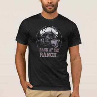 Camisetas Entrementes, traseiro no rancho