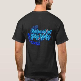 Camisetas ESCOLA de registros dos hard rock