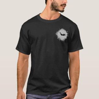 Camisetas Estilo do Scribble de Skydiving