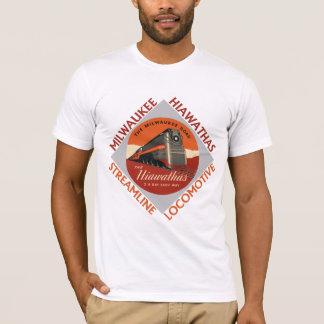 Camisetas Estrada de ferro de Milwaukee Hiawatha