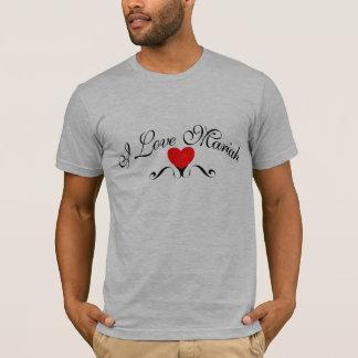 Camisetas Eu amo Mariah