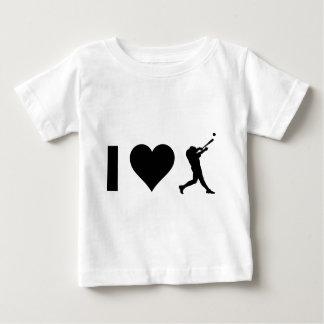 Camisetas Eu amo o basebol