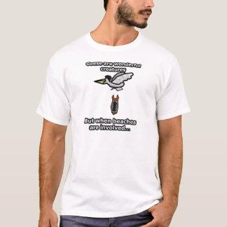 Camisetas Eu deio gansos!